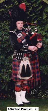 Bryce McCulloch - Scottish Highland Bagpiper